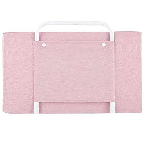 WYYY Struttura Letto, Sponda Culla, Portatile, Lettino Robusto E Stabile, Anticollisione(Size:0.6m,Color:Pink)