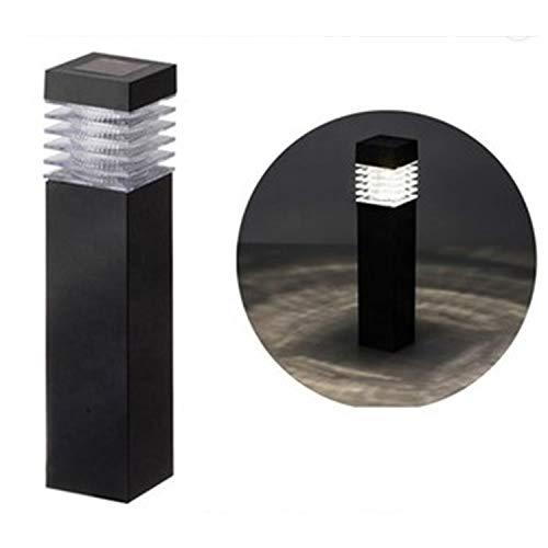 Luces de Exterior Solar [2 Pack] - Luz LED en Forma de Antorcha Inalámbrica - Resistentes a Prueba de Agua - Iluminación de Decoración - Apta para Jardines, Terrazas, Patios [Clase de Eficiencia A+++]