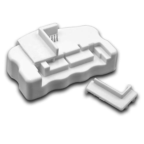 vhbw Chip Resetter für Epson Stylus DX7400, DX7450, DX8400, DX8450, DX9400f, S20, S21, SX100, SX105, SX110, SX115, SX200 Drucker, Tintenpatronen