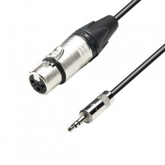 Adam Hall K5MYF 0300–Cable de micrófono Neutrik XLR hembra a jack de...