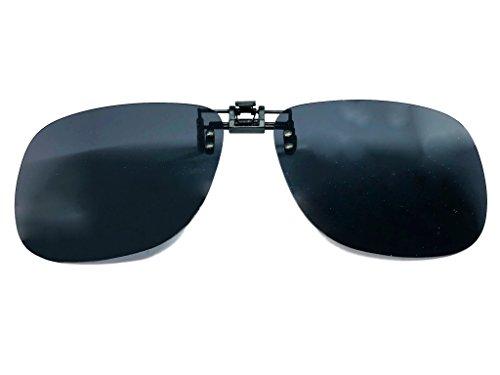 365 vision Clip para gafas POLARIZADAS universal - Unisex (Gris)