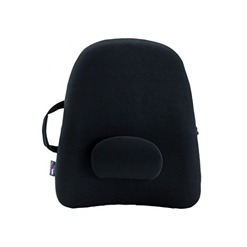 ObusForme Lowback Backrest Support Replacement Lumbar Pad - Black