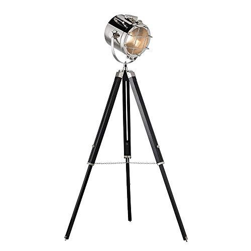 Marine Floor Lamp Searchlight Designer Tripod Lamp Stand