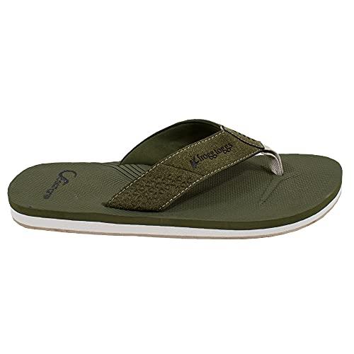FROGG TOGGS OceanGrip - Zapato de barco para kayak para hombre, color oliva, 7