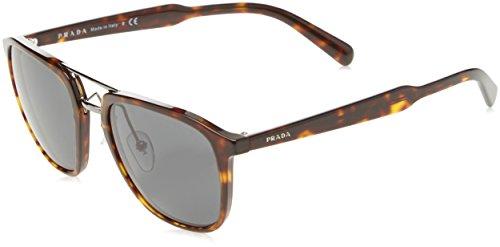 Prada 0PR12TS 2AU5S0 54 Gafas de sol, Marrón (Havana/Grey), Unisex-Adulto