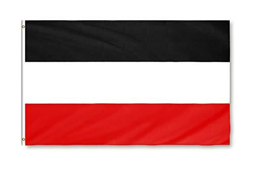 Star Cluster 90 x 150 cm Deutschlandflagge Deutsches Kaiserreich Kaiserflagge1870-1919 aus 100D Polyester