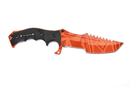 fadecase Huntsman Elite - Slaughter - Echte Stahlmesser von Counter Strike Global Offensive mit Ihren bevorzugten Skins in CSGO
