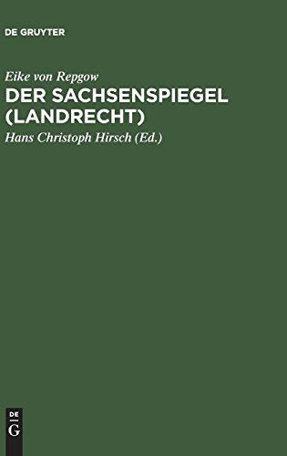 Der Sachsenspiegel (Landrecht)