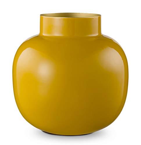 Pip Studio Vase Blushing Birds | Yellow - 25 cm