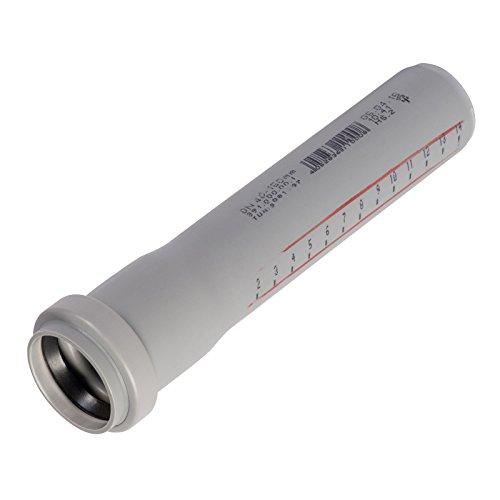 HT-Rohr, Abwasserrohr, Passlänge, Durchmesser DN 50mm, Länge 500mm