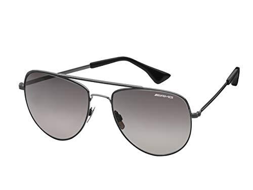 Mercedes-Benz Collection AMG Sonnenbrille Essentials | Sonnenbrille mit AMG Logo | schwarz, Silber