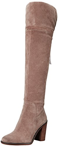 Franco Sarto Women's Eckhart Riding Boot, Taupe, 7 M US