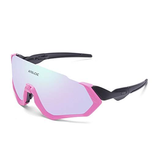 Gafas de Sol para Ciclismo, Protección UV400 y Montura De TR-90 Resistentes...