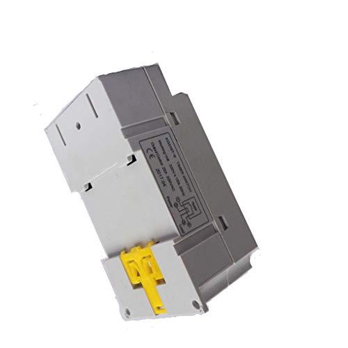 Guangcailun LCD Digital Progrmable Temporizador electrónico Interruptor KG316T-II LCD del microordenador Hora Digital Interruptor Digital Temporizador Controlador de 220V