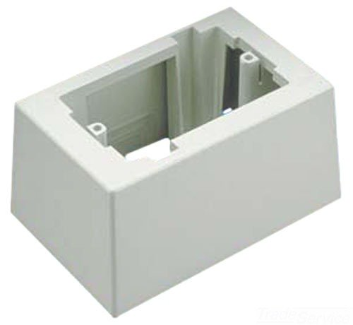 GraybaR Panduit JB1DWH-A 1-Gang Deep Outlet Box, White