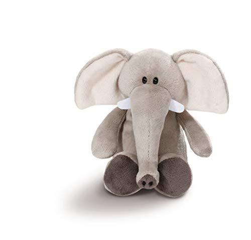 NICI 43626 Kuscheltier Elefant, 20 cm, grau
