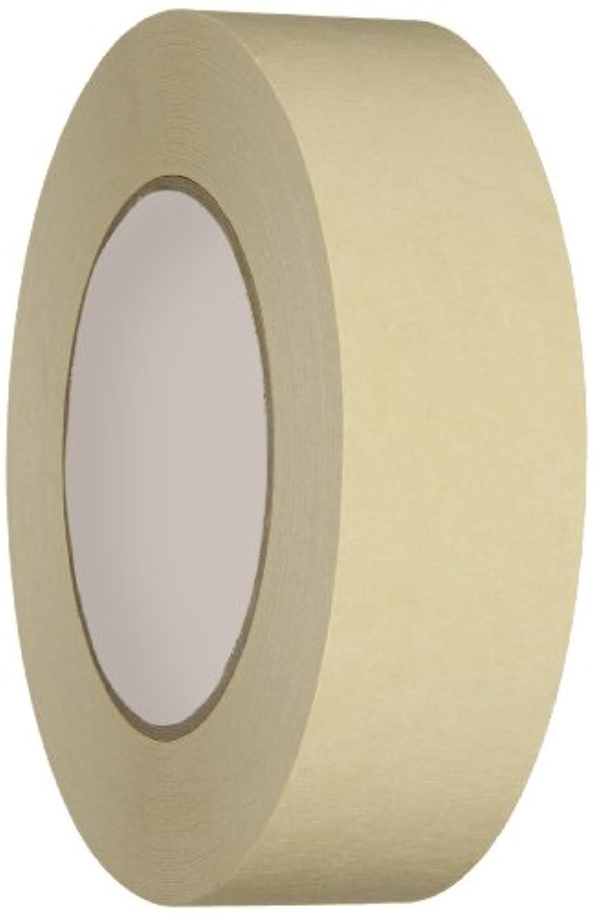 IPG PG505 Utility Grade Masking Tape, 36mm x 54.8m, Tan, (24-Pack)