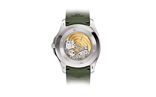 Patek Philippe Aquanaut White Gold 5168G-010 with Khaki Green Embossed dial