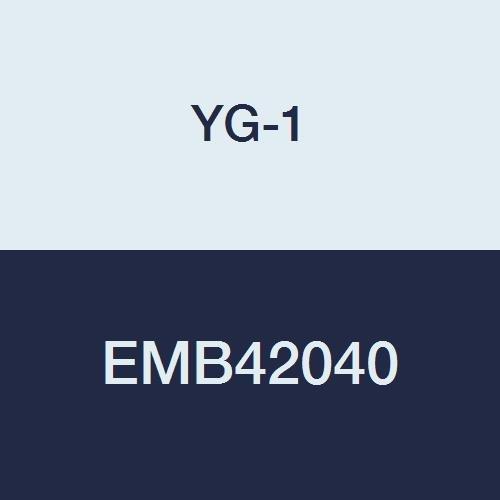 YG-1 EMB42040 4.0 mm Carbide V7 Mill INOX End Mill, 4 Flute, Short Length, 54 mm Length