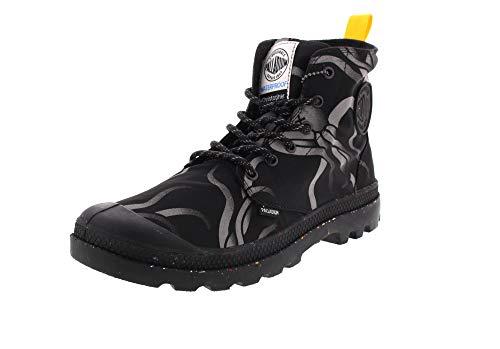 Palladium Christopher Raeburn Hi Night Squid Black Boots-UK 9
