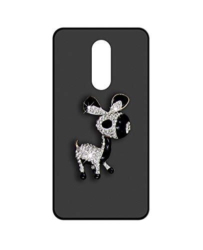 Sunrive Kompatibel mit Leagoo S8 Pro Hülle Silikon,Glitzer Diamant Strass Handyhülle matt Schutzhülle Etui 3D Hülle Backcover (Esel) MEHRWEG+Gratis Universal Eingabestift