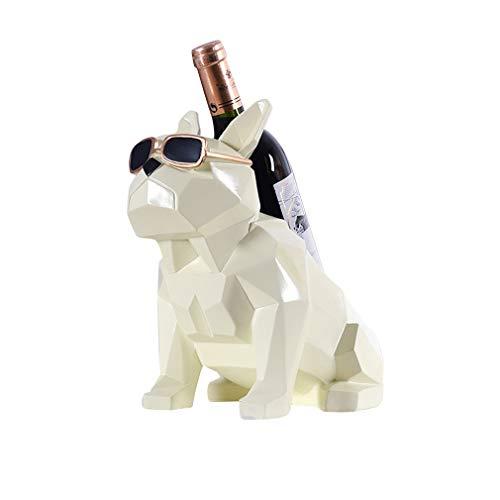Estante de vino botella de vino estante gafas de sol perro vino rack decoración del hogar artesanía decoración moderna regalos moderno diseño minimalista