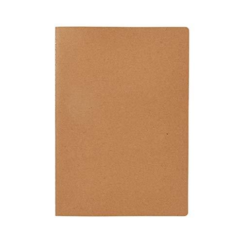 Notizbuch, A4 Discovery - 46 Seiten kariertes, cremefarbenes Papier - Natur