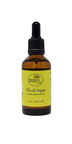 Olio di Argan 100% Puro - 50 ml - Viso, Corpo, Capelli e Unghie