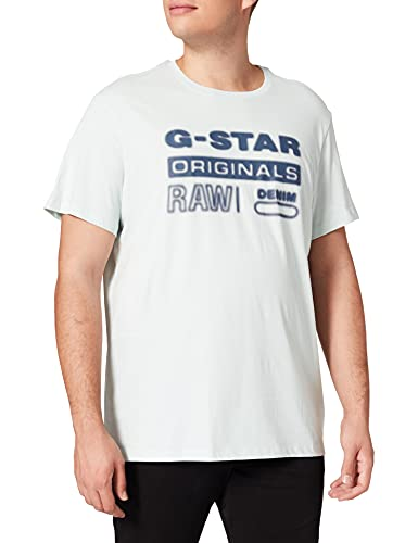 G-STAR RAW Mens D19845 T-Shirt, Blau (Gum 336-803), L