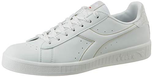 Diadora Game P Wn, Scarpe da Fitness Donna, Bianco (White/Gray C0692), 38 EU