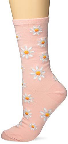 Hot Sox Damen HSW10175, 090110 Socke, Daisy (Blush), Einheitsgröße