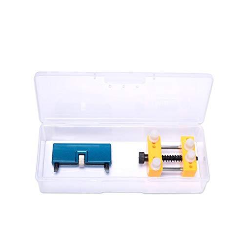 meimeijia Diseño Herramientas del Reloj Portable Ajustable reparación Abierta de Nuevo Caso removedor mire los Kits de Herramientas for un abridor de Tapa de la batería Cambio Robusto (Color : Set 6)