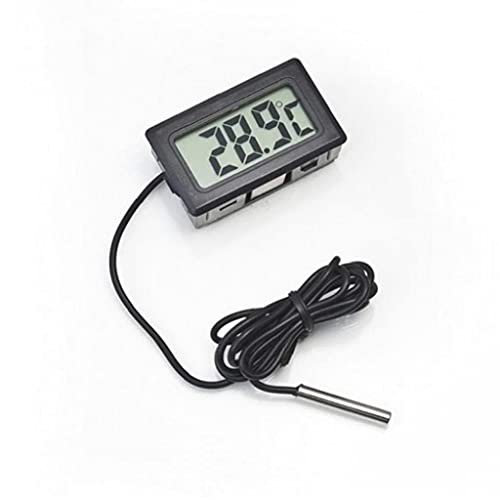 TOSSPER LCD Termómetro Digital Probe Frigorífico Congelador Termómetro Termógrafo para Refrigerador -50~110 Grados