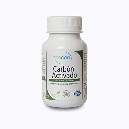 SANON Carboactive 90 cápsulas 550 mg