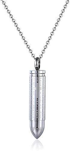 ZGYFJCH Co.,ltd Collar Militar Collar de Acero de Titanio Bu