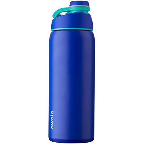 Owala Twist-Cap Botella de agua de acero inoxidable aislada