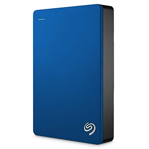 (Renewed) Seagate 5TB Backup Plus USB 3.0 Portable 2.5 Inch External Hard Drive for PC and Mac with 2 Months Free Adobe Creative Cloud Photography Plan & Kaspersky Antivirus 1 Year Subscription- Blue