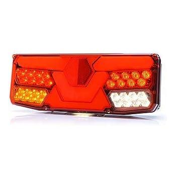 LED R/ückleuchte LKW PKW Wohnmobil Wohnwagen Anh/änger Leuchte 12V-24V 750