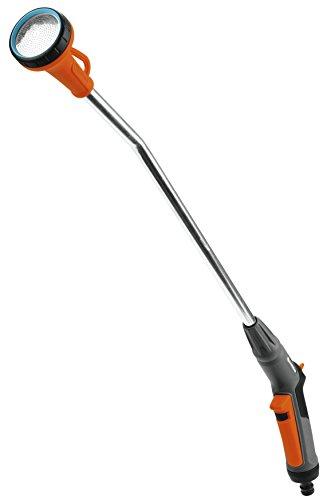 GARDENA Classic 18332-20 - Fusil de riego, robusta ducha de jardín para regar de forma homogénea y cuidadosa, largo 75cm, protección antiheladas