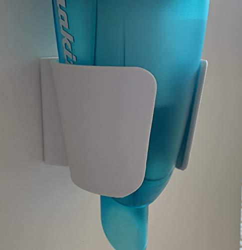 3DJunkies Wand Halterung Akku Sauger Staubsauger Halter passend für Makita DCL Weiß