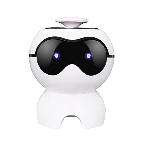 Robot Speaker Mini Dog Portable USB Stereo Sound Speaker for Use with Smartphones, Tablets, MP3 Players, MAC or PC