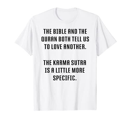 Kama Sutra Sayings - 笑うカーマ スートラ Tシャツ
