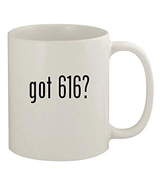 got 616? - 11oz Ceramic White Coffee Mug White