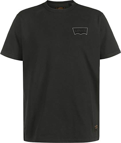 Levi's Camiseta Skate Graphic SS Lsc Core Batwing Negro XS (X-Small)