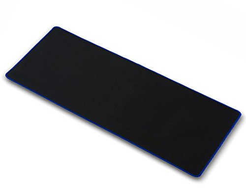 OPCC high Grade Thick Official Big Mouse pad Game Mouse pad Extended Edition Cloth Gaming Mouse Mat 23.611.80.12 Functional Non-Slip Rubber Base (Blue)