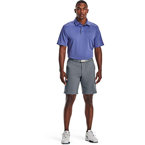 Under Armour Men's Tech Golf Polo , Starlight (561)/Pitch Gray, Large