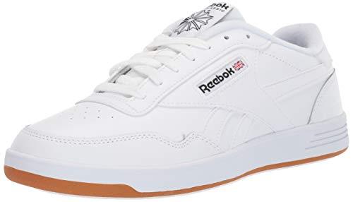 Reebok Men's Club MEMT Sneaker, White/Black Rubber gum-01, 12.5 M US