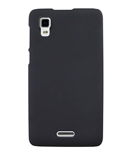 COVERBLACK Plastic Back Cover for Micromax A102 Canvas Doodle 3 - Black