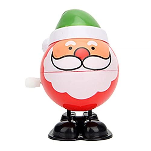 FINIVE Wind-up Toys - Juguetes de cuerda para decoración de Navidad, multiuso, resistente al desgaste, 7