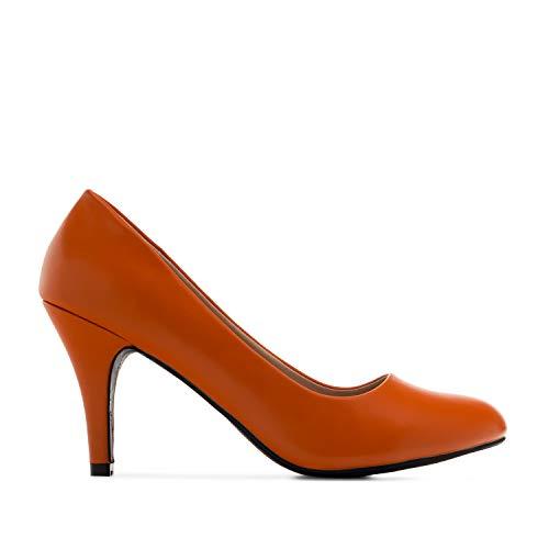 Andres Machado - Zapatos de tacón para Mujer - Tacon de Aguja -...